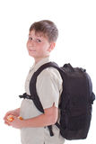 Portrait of a schoolboy Royalty Free Stock Photography