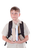 Portrait of a schoolboy Royalty Free Stock Image