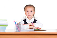 Portrait of schoolgirl Royalty Free Stock Images