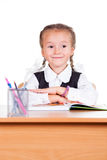 Portrait of schoolgirl Stock Photo