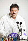 Portrait of Scientist in Lab Stock Photography