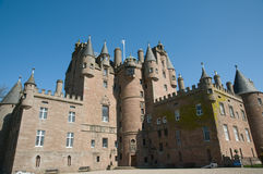 Portrait of a scottish castle Royalty Free Stock Photo