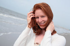 Portrait at the Sea Royalty Free Stock Image
