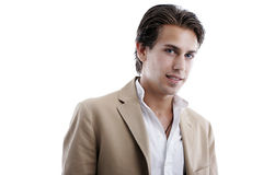 Portrait of a seductive handsome young man, Royalty Free Stock Images