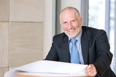 Portrait of senior Architect Royalty Free Stock Image