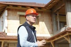 Portrait of senior architect Royalty Free Stock Photos