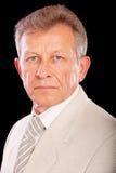 Portrait of senior business man Stock Photo