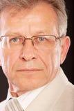 Portrait of senior business man Stock Image