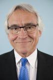 Portrait of a senior business man Stock Images