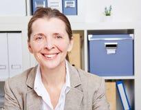 Portrait of senior business woman Stock Photos