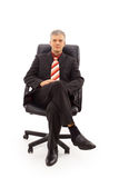 Portrait of a senior businessman Royalty Free Stock Photography