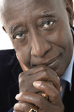 Portrait Of Senior Businessman Stock Image