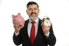 Portrait of Senior Businessman royalty free stock image