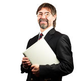 Portrait of a senior businessman smiling Royalty Free Stock Photo
