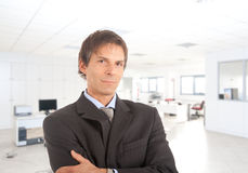 Portrait of a senior businessman in the office Royalty Free Stock Photography