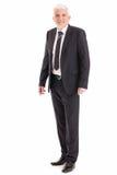 Portrait of a Senior Businessman Stock Images