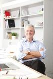 Portrait of senior businessman Royalty Free Stock Photos