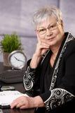 Portrait of senior businesswoman Royalty Free Stock Image