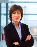 Portrait of senior businesswoman Stock Photography