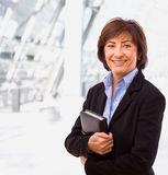 Portrait of senior businesswoman Royalty Free Stock Images