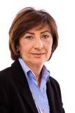 Portrait of senior businesswoman Stock Photography