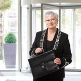 Portrait of senior businesswoman Royalty Free Stock Photography
