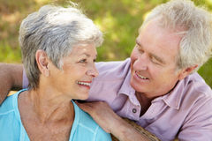 Portrait of senior couple Royalty Free Stock Photo