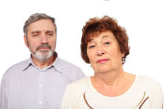 Portrait of senior couple Royalty Free Stock Image