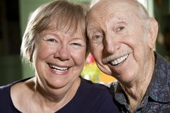 Portrait of Senior Couple Stock Photography