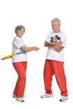 Portrait Of A Senior Couple Stock Photography