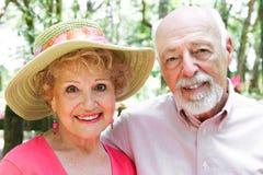 Portrait - Senior Couple Stock Image