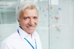 Portrait of Senior Entrepreneur Royalty Free Stock Photos