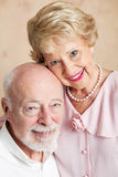 Portrait of Senior Husband and Wife Stock Images