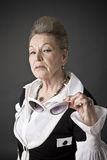 Portrait of a senior lady Royalty Free Stock Photography