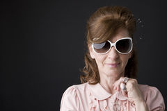 Portrait of a senior lady Stock Photo