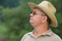 Portrait of a senior man. Outdoors Stock Photography