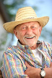 Portrait of senior man Stock Images