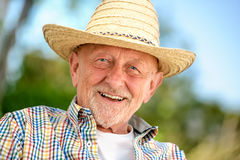 Portrait of senior man Royalty Free Stock Photo