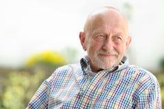Portrait of senior man Royalty Free Stock Image