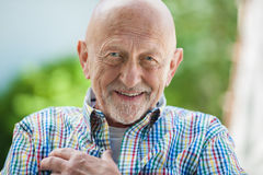 Portrait of senior man Stock Image