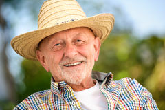 Portrait of senior man Royalty Free Stock Images