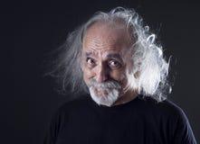 Portrait of senior man royalty free stock photo