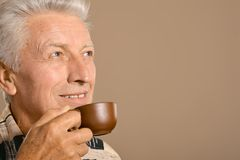 Portrait of a senior man Royalty Free Stock Images
