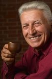 Portrait of a senior man Stock Photography