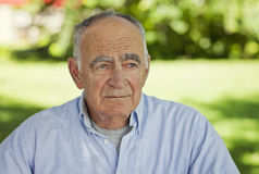 Portrait Of A Senior Man Royalty Free Stock Image