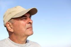 Portrait of senior man Stock Photography