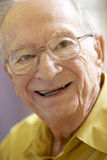 Portrait Of A Senior Man Smiling Royalty Free Stock Photography