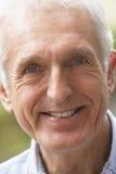 Portrait Of Senior Man Smiling At The Camera Royalty Free Stock Image