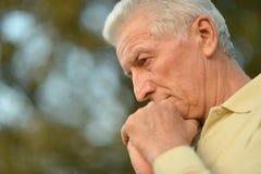 Portrait of senior man Royalty Free Stock Photography