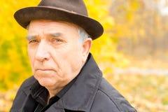 Portrait of a senior man Stock Images